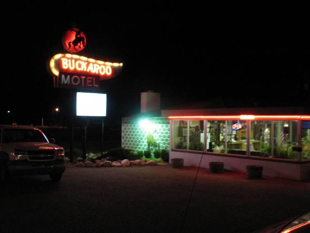 Tucumcari, NM Route 66 The Buckaroo Motel