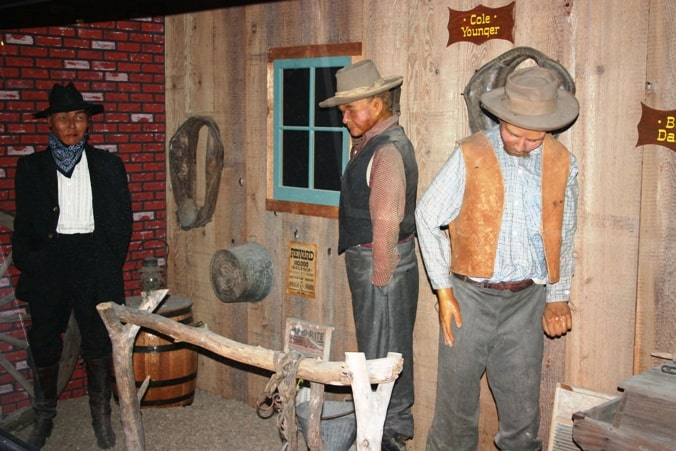 Gunfighter's Wax Museum in Dodge City, KS