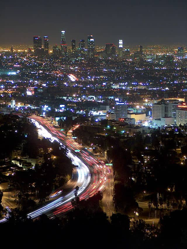 Los Angeles from Mulholland Drive