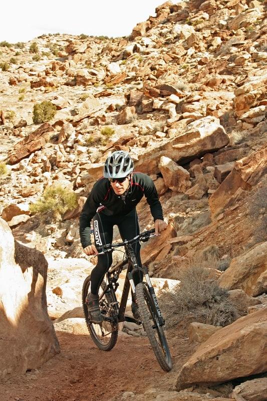 Riding Moab