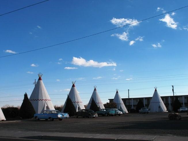 Wigwam Motel Holbrook AZ Route 66 landmark