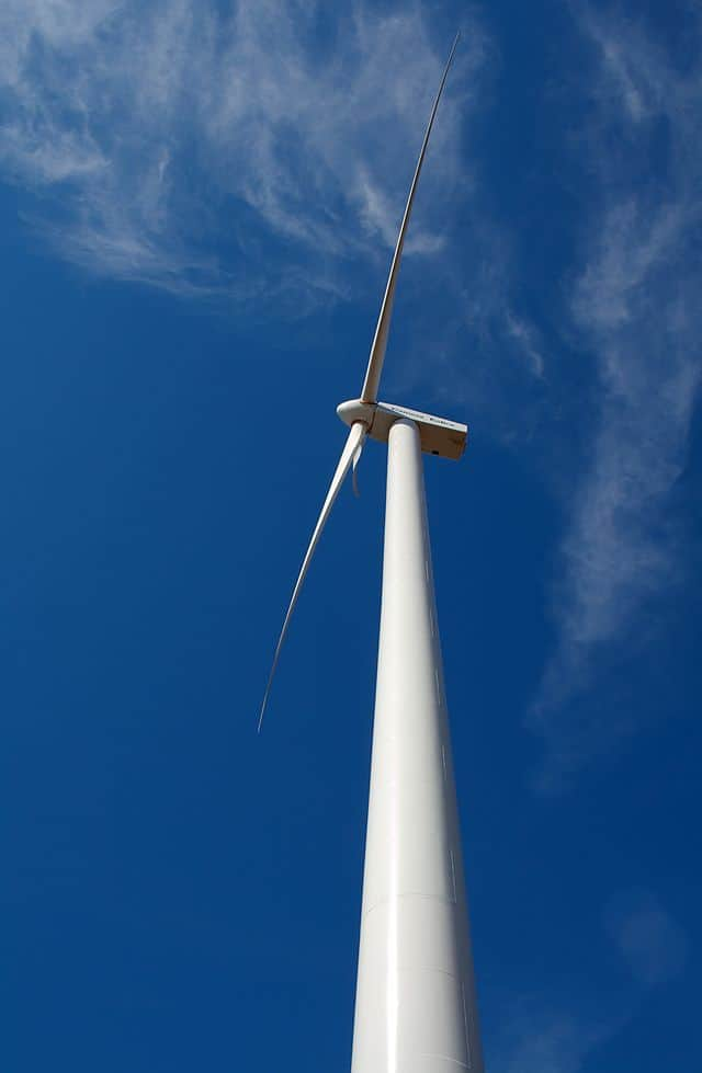 Wind turbine in Kansas
