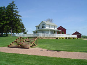 The Field of Dreams House in Dyersville, IA