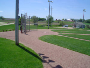 Home Plate at the Field of Dreams