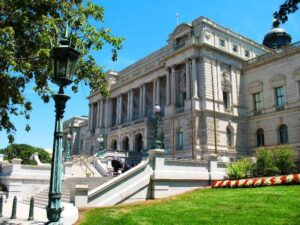 The Library of Congress main building