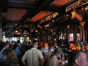 Interior of the Old Ebbitt Grill