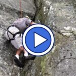 Rock climbing in North Carolina video
