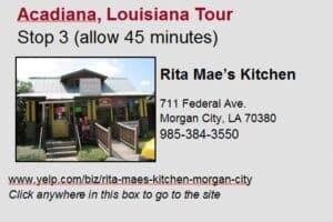 Acadiana Tour Stop 3