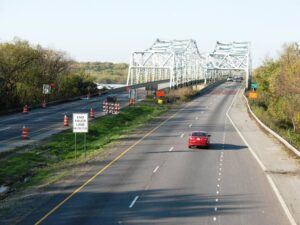 The I-55 bridge where John Wayne Gacy dumped his bodies.