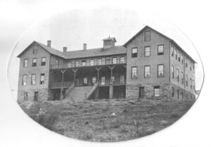 Original Concho, OK boarding school in the 1890's.