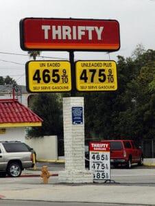 Thrifty gas