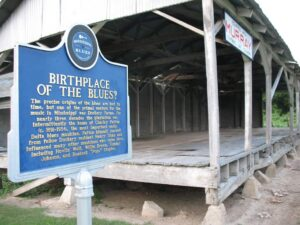 Dockery Plantation, Dockery, MS Blues Trail marker