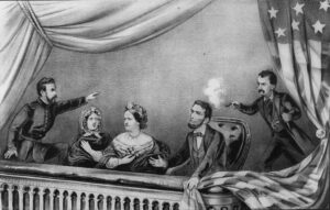 Booth's assassination of Lincoln.