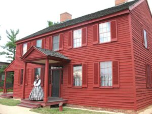 Surratt's Tavern in Clinton, MD on John Wilkes Booth escape route