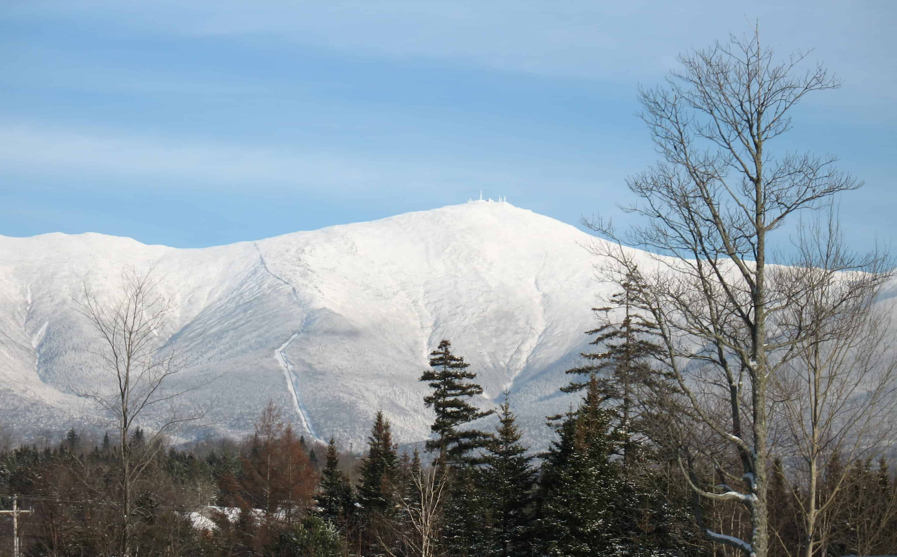 mount washington height