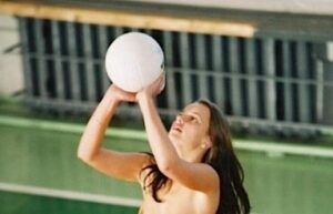 Nudist volleyball