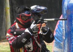Paintball assault