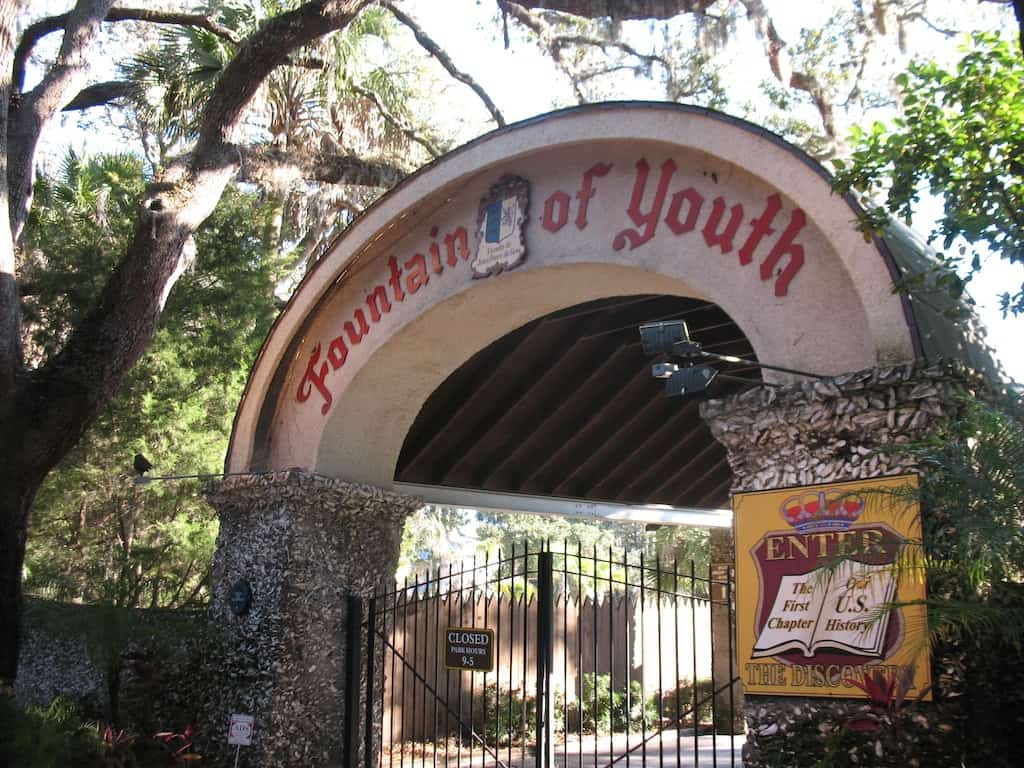 Ponce de Leon's Fountain of Youth Archaeological Park!