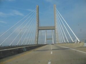 Cochrane-Africatown Bridge in Mobile, AL