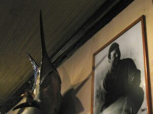 Hemingway and swordfish at Sloppy Joes in Key West