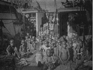 African slave ship