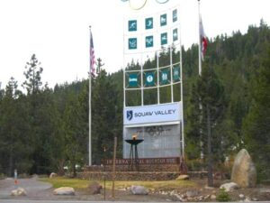 Squaw Valley entrance