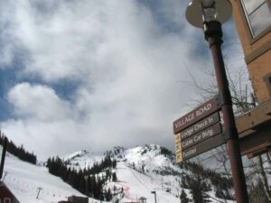 Squaw Valley street sign