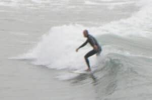 Surfing Santa Barbara