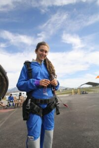 Cambelle Logan at Skydive Utah