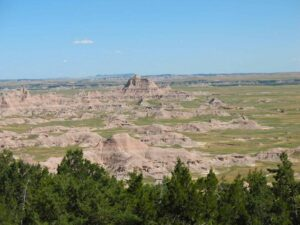 The South Unit of Badlands National Park