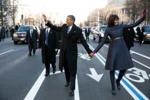 Obama's second inaugural parade