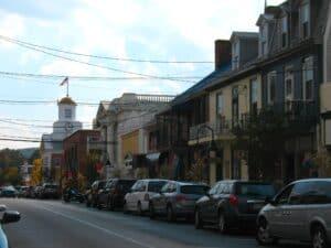 Juliana Street in downtown Bedford, PA