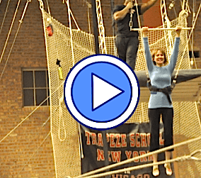 Joan Anundsen trapeze video