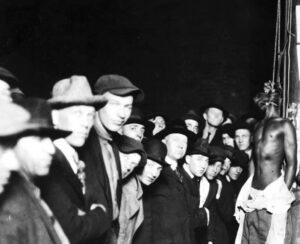 Lynchings were all too common in the South in the early part of the 20th century