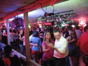 Dancers at The Broken Spoke in Austin