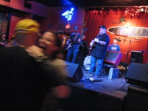 Red Volkaert playing at The Continental Club in Austin.