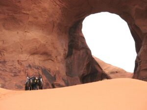 Riders at the Ear of the Wind in Monument Valley
