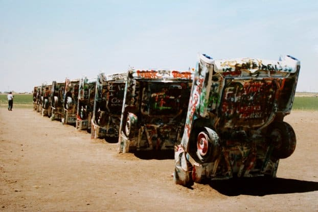 Cadillac Ranch - Route 66