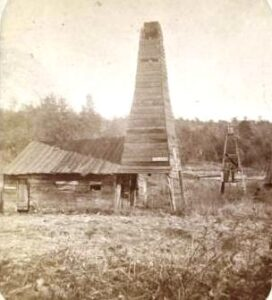 Drake Well, the first oil well in Western Pennsylvania