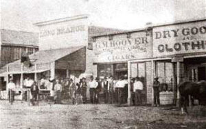 Long Branch Saloon in the 1870's