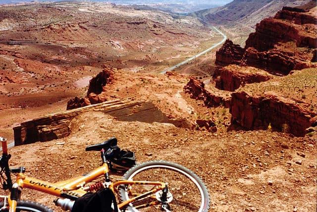 The desert around Moab