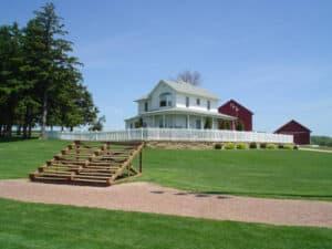 The Field of Dreams House in Dyersville, IA