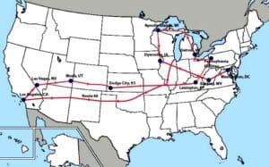 MAO map to Washington DC