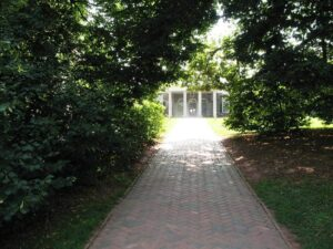 Front walk of Monticello