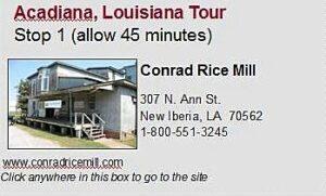 Acadiana tour stop 1