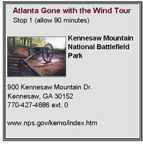 Atlanta Gone with the Wind Tour First Stop
