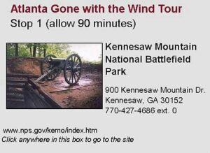 Gone with the Wind Tour Stop 1