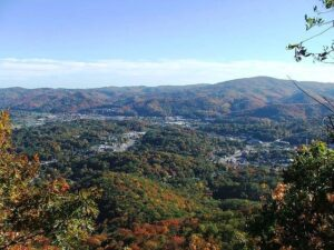 Boone, NC and the surrounding mountains