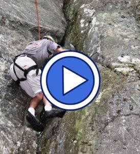 Rock climbing in North Carolina video