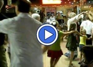 Cajun dancing at the Jolly Inn in Houma, LA